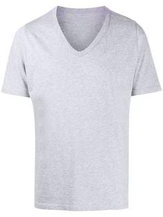 Maison Margiela футболка с V-образным вырезом и принтом