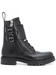 Balmain ботинки на массивной подошве