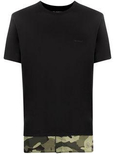Neil Barrett футболка с камуфляжным узором