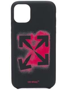 Off-White чехол для iPhone XS с логотипом Arrows