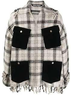 Palm Angels куртка-рубашка с объемными карманами