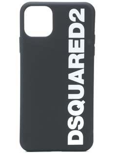 Dsquared2 чехол для iPhone 11 Pro Max с логотипом