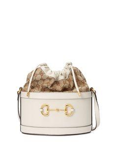 Gucci маленькая сумка-ведро 1955 Horsebit