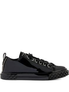 Giuseppe Zanotti кроссовки на шнуровке