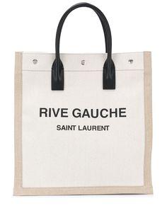 Saint Laurent сумка-тоут с логотипом