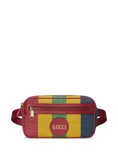 Gucci поясная сумка в полоску Baiadera