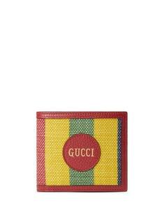 Gucci бумажник в полоску Baiadera