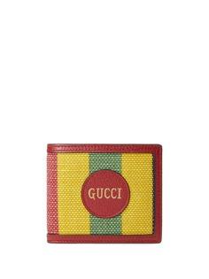 Gucci складной бумажник Baiadera в полоску
