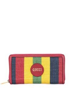 Gucci кошелек в полоску Baiadera