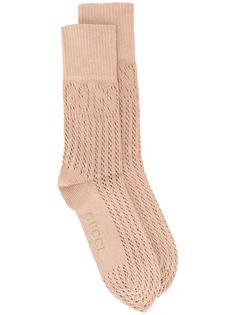 Gucci носки с логотипом