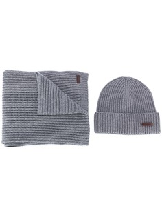Dsquared2 комплект из шапки и шарфа