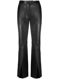 Just Cavalli расклешенные брюки с разрезами на манжетах