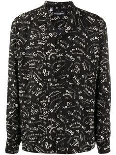 Dolce & Gabbana рубашка с логотипом