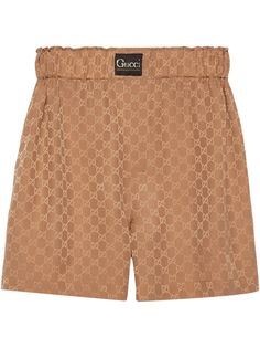 Gucci шорты с узором GG