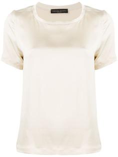 Fabiana Filippi декорированная футболка с круглым вырезом