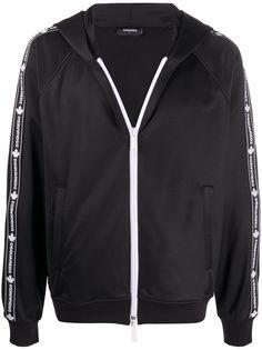 Dsquared2 спортивная куртка с капюшоном