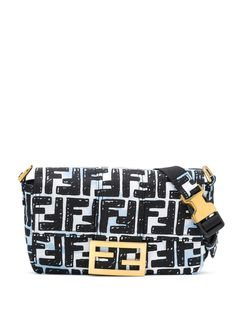Fendi сумка через плечо Baguette из коллаборации с Joshua Vides