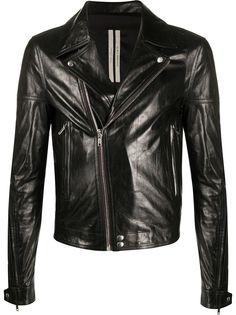 Rick Owens укороченная куртка с косой молнией