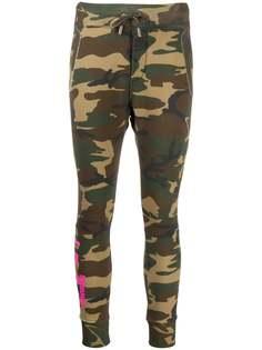 Dsquared2 спортивные брюки с камуфляжным принтом