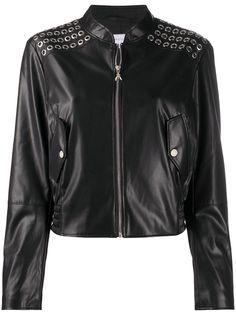 Patrizia Pepe куртка из искусственной кожи на молнии