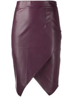 Patrizia Pepe юбка из искусственной кожи
