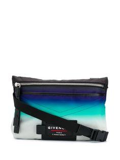 Givenchy сумка на плечо с нашивкой-логотипом и эффектом омбре