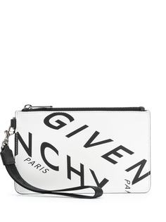 Givenchy клатч с логотипом Givenchy Refracted
