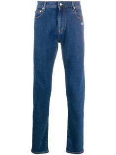 Off-White джинсы скинни с карманами