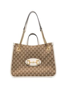 Gucci сумка-тоут 1955 Horsebit среднего размера