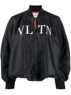 Valentino бомбер с логотипом VLTN