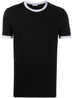 Dolce & Gabbana футболка с контрастной отделкой