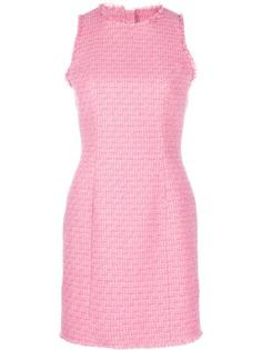 Balmain твидовое приталенное платье