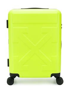Off-White чемодан Arrow