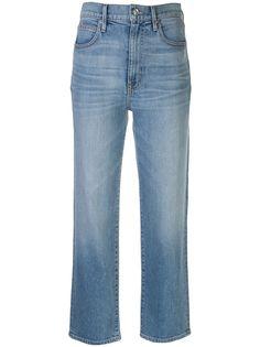 Slvrlake укороченные джинсы London с завышенной талией