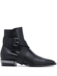Balmain ботинки с пряжками
