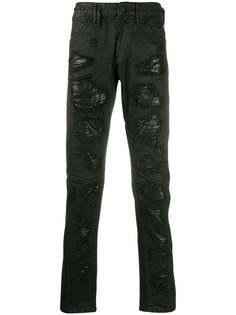 Philipp Plein декорированные джинсы