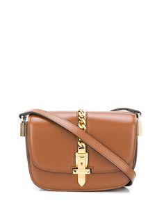 Gucci сумка на плечо с цепочной отделкой
