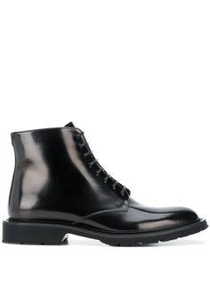 Saint Laurent ботинки на шнуровке