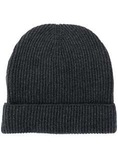 Tom Ford кашемировая шапка бини в рубчик