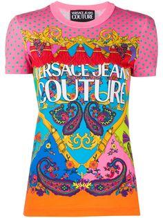 Versace Jeans Couture футболка с принтом