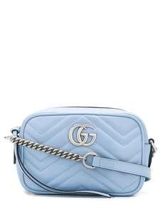 Gucci мини-сумка через плечо GG Marmont