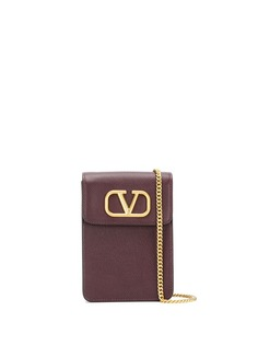Valentino Garavani компактный кошелек VSling с цепочкой