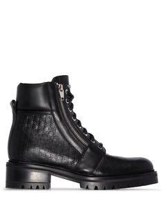 Balmain ботинки Ranger в стиле милитари с тисненым логотипом