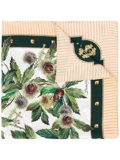 Dolce & Gabbana шарф с принтом