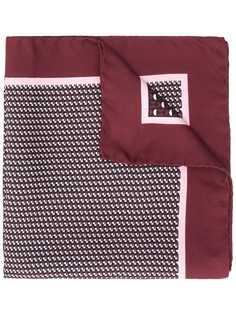 Ermenegildo Zegna платок с принтом