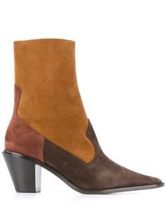 Casadei ковбойские ботинки с заостренным носком