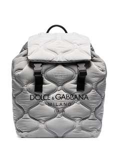 Dolce & Gabbana стеганый рюкзак с логотипом
