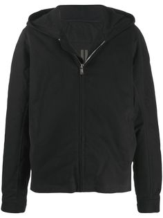 Rick Owens DRKSHDW куртка оверсайз с капюшоном
