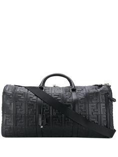 Fendi дорожная сумка с тиснением FF