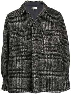 Isabel Marant клетчатая куртка-рубашка с накладными карманами